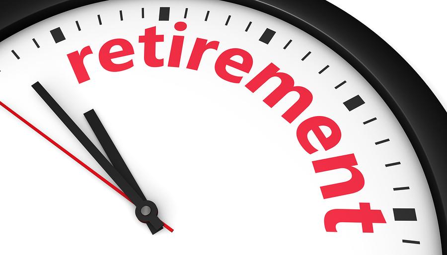 Retirement alarm clock.