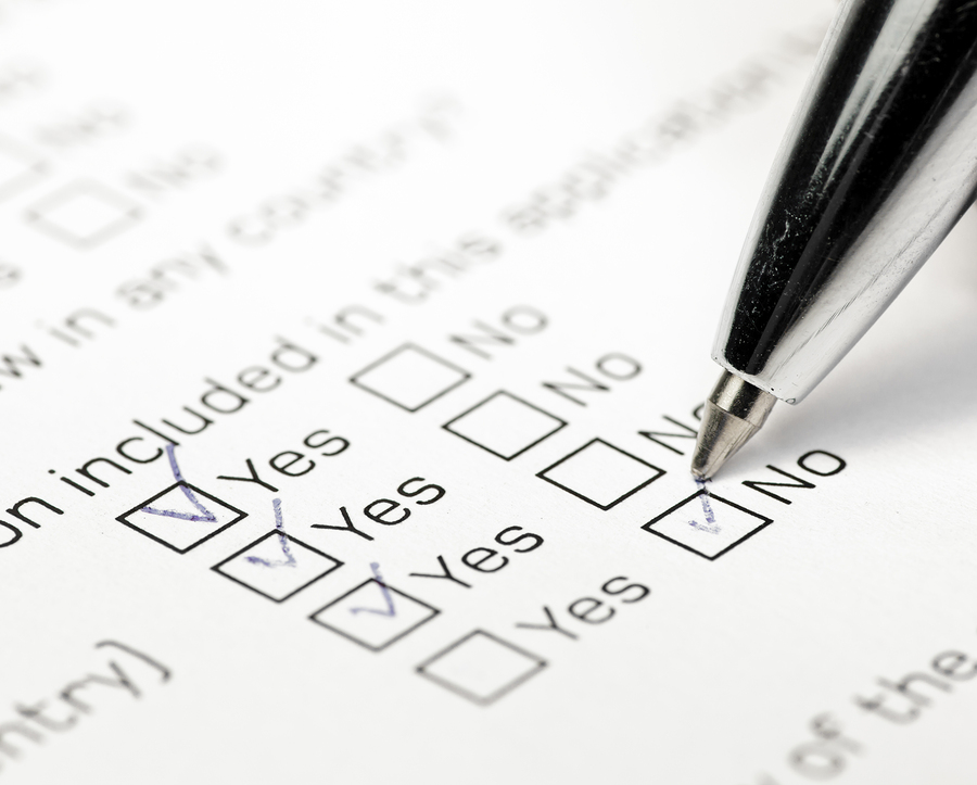 Qualifications Check LIst